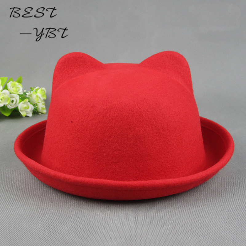 49527661a79 Online Shop The new lady Orecchiette classic fedoras small round hat Korean  version of the trend of small round cap summer hats for women