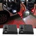 Новые 1 Пара Светодиодных Автомобилей Дверь Логотип Белый Каркас Тень Добро Пожаловать Свет Оригинал Света Дверей Заменить Лазерная Лампа Проектора Лампа