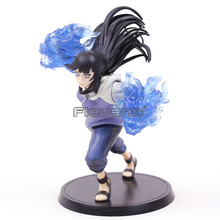Anime Naruto Gently Step Twin Lions Fist Hyuuga Hinata PVC Action Figure Toy Collectibles TSUME XTRA Model Figurals Gift