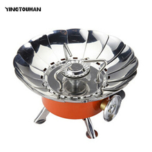 YINGTOUMAN 4000BTU Superpower Windproof Stove With Electronic Ignition Outdoor Portable Floding Hiking Picnic Camping Equipment