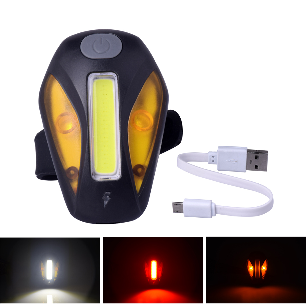 Cheap USB Rechargeable Bike Lights Mountain Warning Light LED Super Bright Change Bicycle Cycling USB Charging Taillight cateye hl el930rc bike rechargeable lamp super bright sumo3 light bicycle headlights