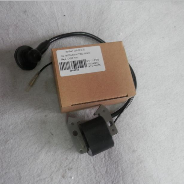 IGNITION COIL FOR MITSUBISHI T320 49.6CC 2.2KW ENGINE FREE POSTAGE  TEA HARVESTER  IGNITOR  MAGNETOR PARTS ignition coil for rcmk k30s zenoah qj