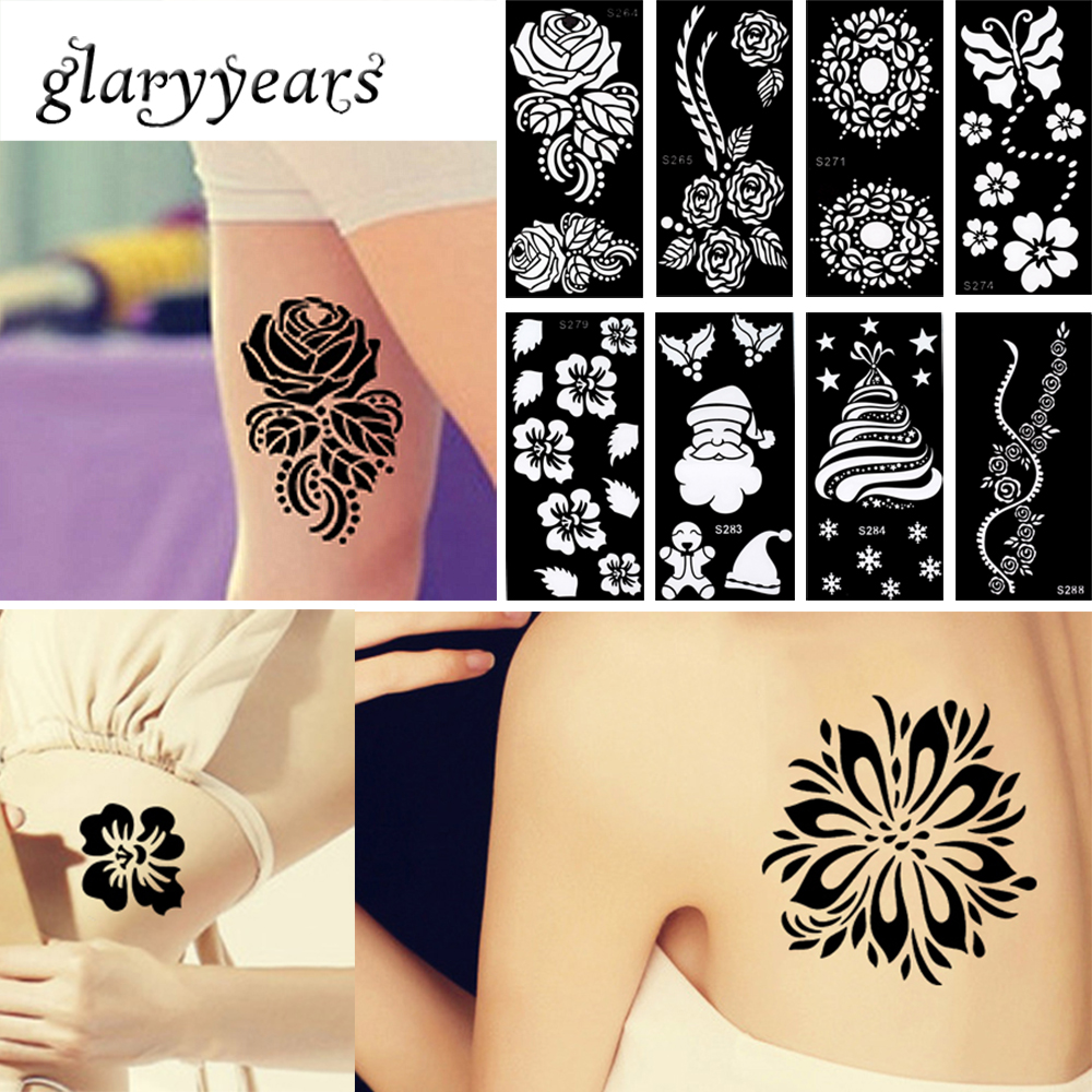 online buy wholesale henna tattoo stencils from china henna tattoo stencils wholesalers. Black Bedroom Furniture Sets. Home Design Ideas