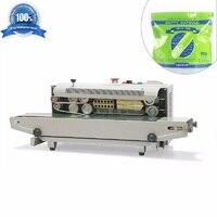 CapsulCN, Автоматическая непрерывная Пластик мешок запайки с кодирования принтер FR 900 (110 В/60 Гц)