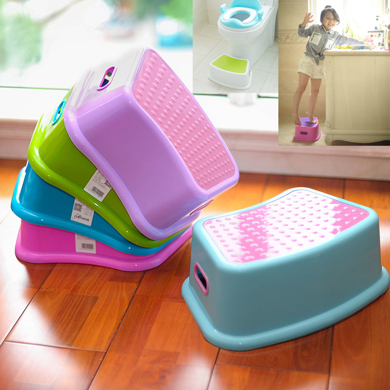 Children Multi-function Toilet Seat Foot Stool Childrens Stool Baby Anti-skid Stool Footstool Child Small Chair