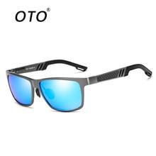 OTO 2017 Classic Aluminum Magnesium Men's Polarized Sunglasses Driving Square Sun Glasses For Men Eyewear Male Gafas UV400 6560