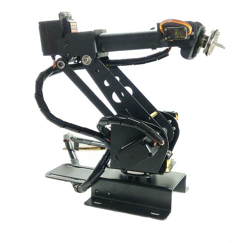 6 Axis Robot Arm Mechanical Robot Arm Free Manipulator with Servos tzt