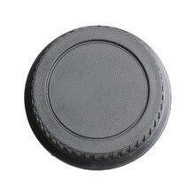 Сзади объектив Кепки Крышка для Canon Rebel EOS EFS EF EF-S EF DSLR SLR черный