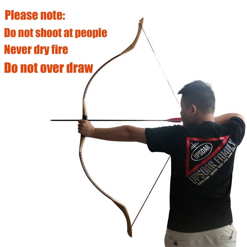 Toparchery caça arcos 30-55lbs tradicional arco do
