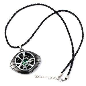 Image 4 - Marvel Superhero Figure Doctor Strange Eye of Agomotto Keychain Toy Avengers Union  Glasses Pendant Car Bag Necklace Gift