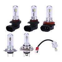 2PCS 9005 9006 H3 H4 H7 H8 LED 72W 8000LM Car LED Headlights Bulb Waterproof 360