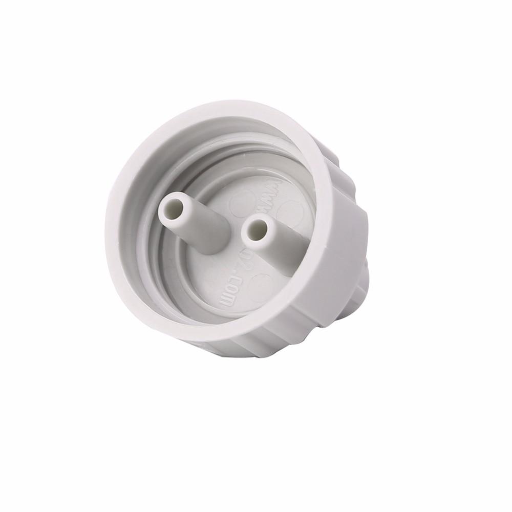 1 x New White Pro Aquarium Bottle Cap Kit For Fish Tank Live Plant CO2 Diffuser Air Generator System DIY Tool Parts C42