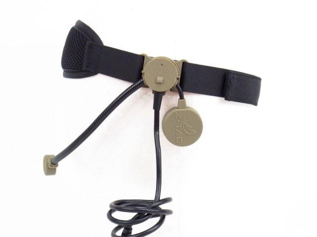 Z Tactical military Headset headphone TEA Co bra Tactical Headset black DE Z043 рулевая ethic headset silicone black