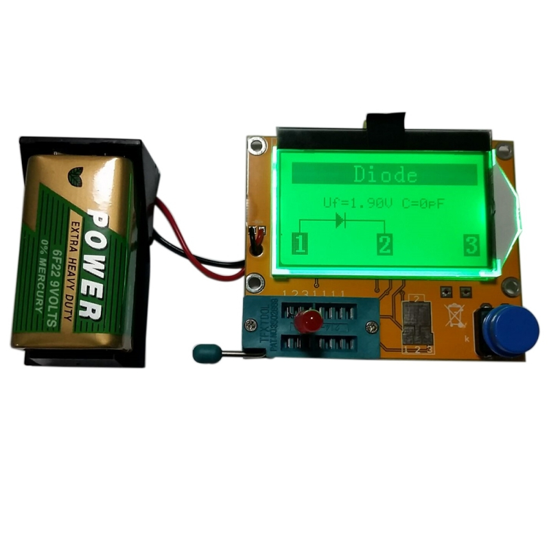 Image 3 - LCD Digital Transistor Tester Meter LCR T4 Backlight Diode Triode Capacitance Transistor ESR Meter For MOSFET/JFET/PNP/NPN L/C-in Multimeters from Tools