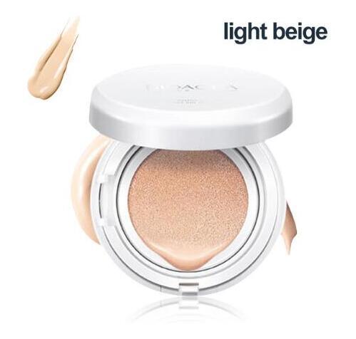 BIOAQUA воздушная Подушка BB крем изоляция BB Обнаженная консилер контроль масла увлажняющая Жидкая Основа CC крем - Цвет: Light beige