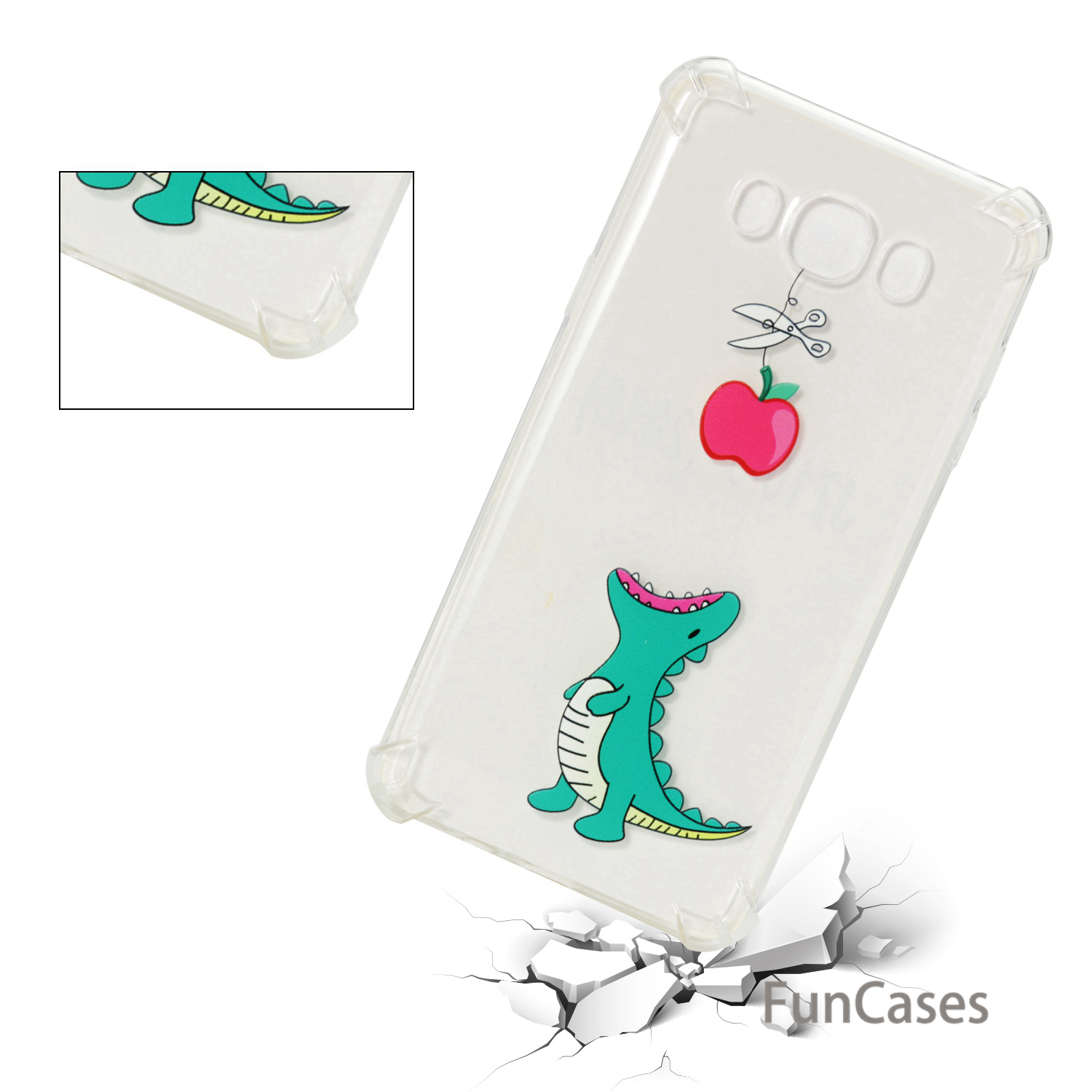 Balloon Phone Case sFor Carcasa Samsung J710 Soft TPU Back Cover Coverage Unicorn Rhinestone Case For Samsung Galaxy J7 2016 Bag