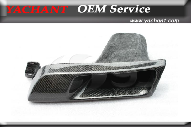 Car Styling Carbon Fiber CF Headlight Intake Cover Fit For 1989 1994 Skyline R32 GTS GTR LHS Vented Headlight Intake Replacement