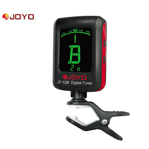 JOYO  JT-12B  Digital LCD Clip-on Tuner for Electronic Acoustic Guitar Bass Violin Ukulele