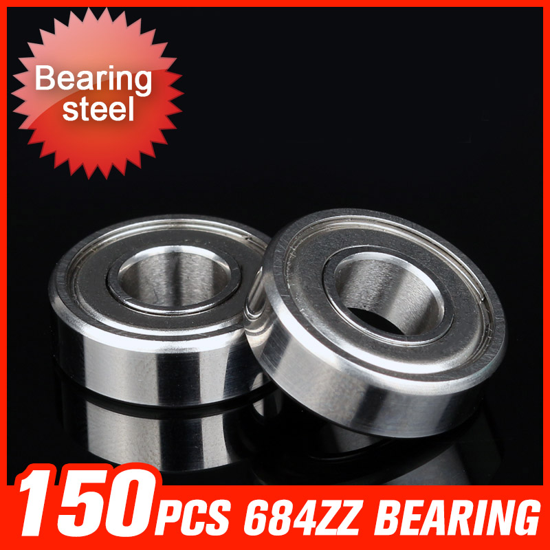 150pcs 684ZZ Bearing 9x4x4mm Metal Seal Cover Bearings For Automobile production industry Hardware Tool Accessories f 846067 01 f846067 846067 automobile transmission bearings 56x86x25 mm bearing good quality auto bearing