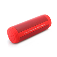 Outdoor Bike Wireless Bluetooth Speaker Waterpoof Woofer Subwoofer Hifi Stereo System Sound Music Surround Full Range Speaker