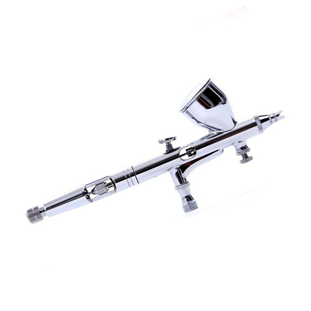 HD 180 0.2mm Gravity Feed Dual Action Airbrush Paint Spray Gun For ...