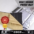Car Styling 250*100cm 10mm Thick Heat Killer Sound Insulation Noise Deadener Shield Mat Foil For Hatch Back Sedan SUV 4-Door