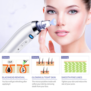 Image 5 - Blackhead Remover Vacuum Tool Black Spots Pore Vacuum Suction Tool Acne Point Black Head Remove Facial Skin Care Clean Tools