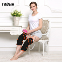 YihCare 1 Pair Heating Magnetic Therapy Arthritis Rheumatism Treatment Electric Foot Leg Massager Heating Joint Care Knee Warm