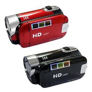 Image 2 - 풀 HD 1080P 디지털 비디오 카메라 2.7 인치 LCD 화면 디지털 카메라 16 배 디지털 줌 손떨림 방지 DV DVR 비디오 레코더 캠코더