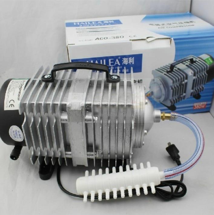 280L/min Hailea ACO-380 Air pump 380W Air Compressor Septic Fish Tank Aquarium tank,Oxygen for Fish tank EMS DHL Free Shipping