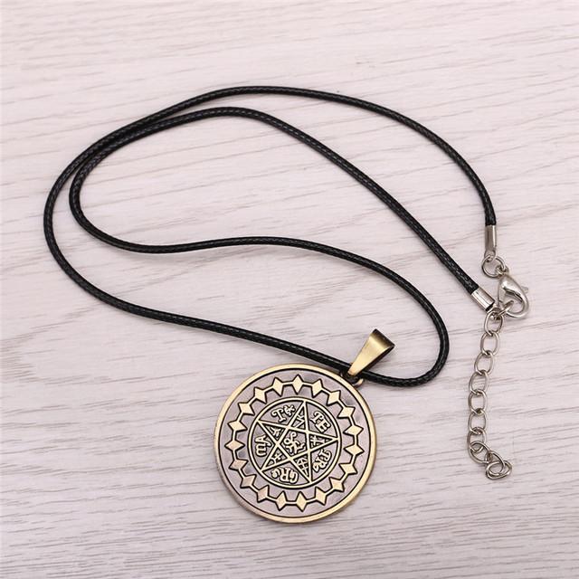 Black Butler Anime Ciel Demon Eye Pendant Necklace Jewelry