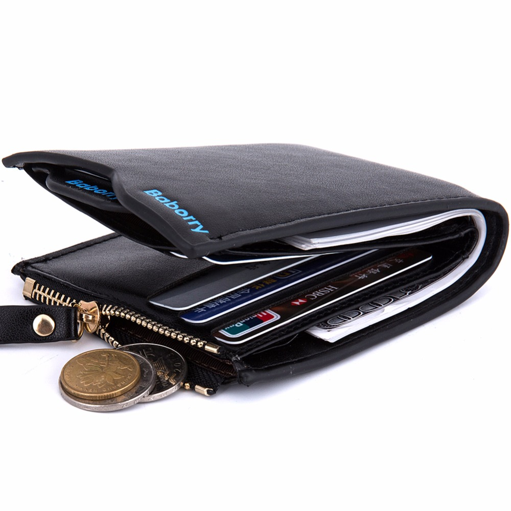 new 2016 men wallets Coin purse mens wallet male money purses Soft Card Case New classic soild pattern designer wallet 385-5