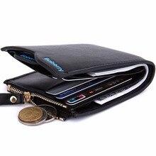 Nuevos 2016 hombres carteras monedero para hombre billetera masculina dinero Caso Nuevo clásico soild patrón billetera diseñador monederos Tarjeta Suave 385-5