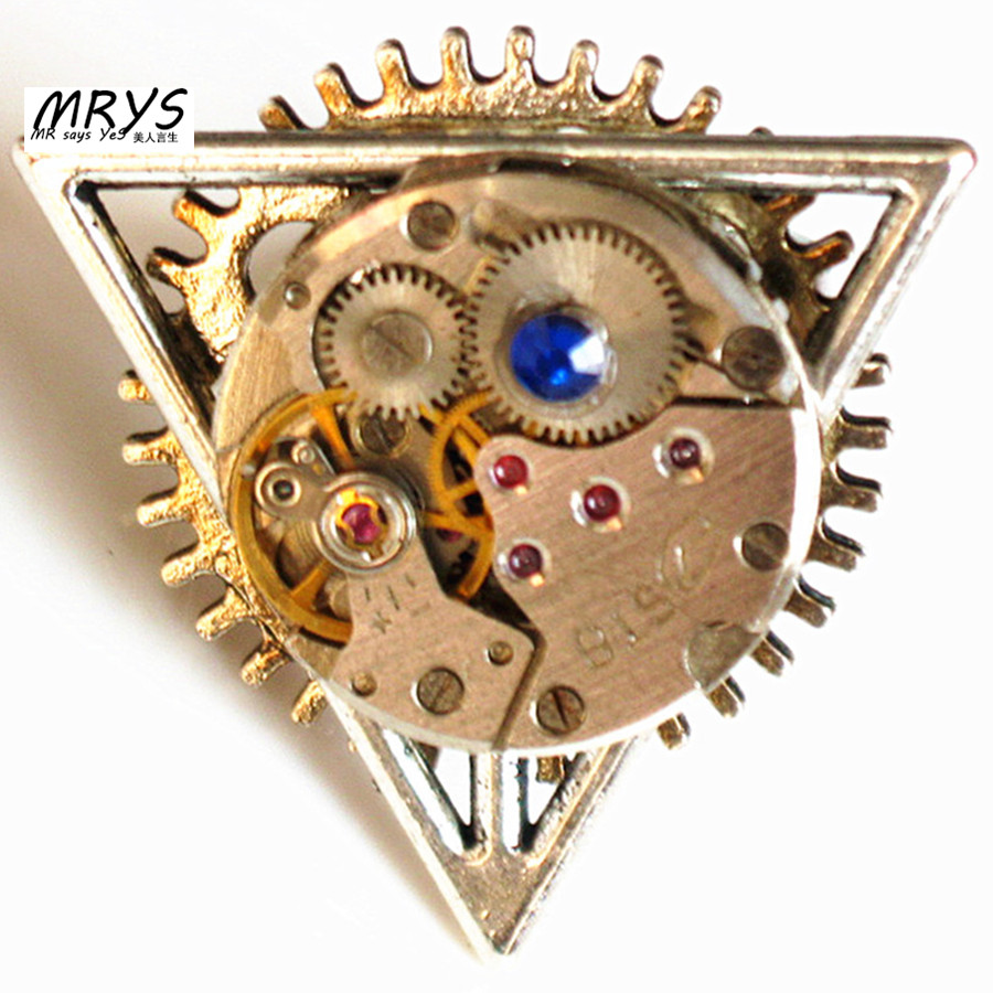 steampunk gothic punk Deathly Hallows open one finger ring men women jewelry diy