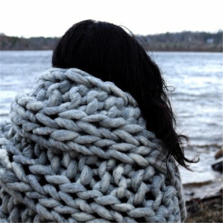thick yarn for knitting 100% Merino Wool Yarn knitting wool hilos crochet  yarn wolle lanas madejas Free Needles-in Yarn from Home   Garden on  Aliexpress.com ... d9cb7e96f