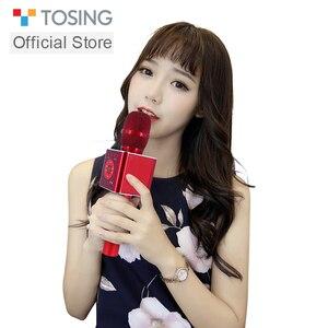 Image 5 - TOSING 04 portable Bluetooth sans fil karaoké Microphone lecteur de téléphone micro haut parleur enregistrer de la musique KTV Microphone