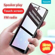 Yescool X5 lossless MP4 плеер walkman hifi спортивный музыкальный плеер fm-радио электронная книга часы видео рекордер Встроенный динамик SD 8G