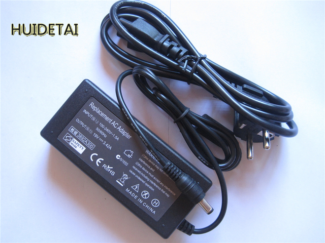 19V 3.42A 65W Universal AC Adapter Battery Charger With Power Cable for Asus X551 X551C X551CA X551M X551MA X551MAV