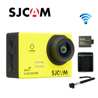 Free Shipping Original SJCAM SJ5000X WiFi 2K 30fps Diving 30M Waterproof Sport Cam Extra 1pcs Battery
