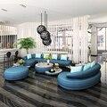 2 pcs 3 assento + salão de 1 conjunto branco conjunto de sofá de couro moderno para sala de estar # SF-089