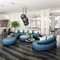 2 unids 3 asiento + blanco conjunto de sofás de cuero salón de 1 Unidades moderna para sala de estar # SF-089