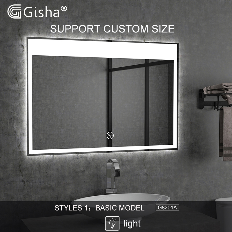 Custom-made  Illuminated Smart Mirror LED Bluetooth Bathroom Mirror Backlit Mirror  Anti-fog Bath Mirror  Makeup Mirror 2G8201