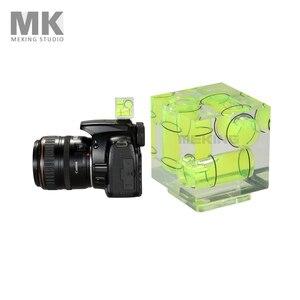 Image 1 - Triple 3 Axis Hot Shoe Waterpas Hotshoe Bubble Gradienter Voor Canon Nikon Camera Etc