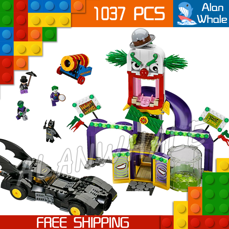 1037pcs Super Heroes Batman Movie Joker Jokerland Robin Beast Boy sy512 Figure Building Blocks Toys  Compatible with LegoING-in Blocks from Toys & Hobbies