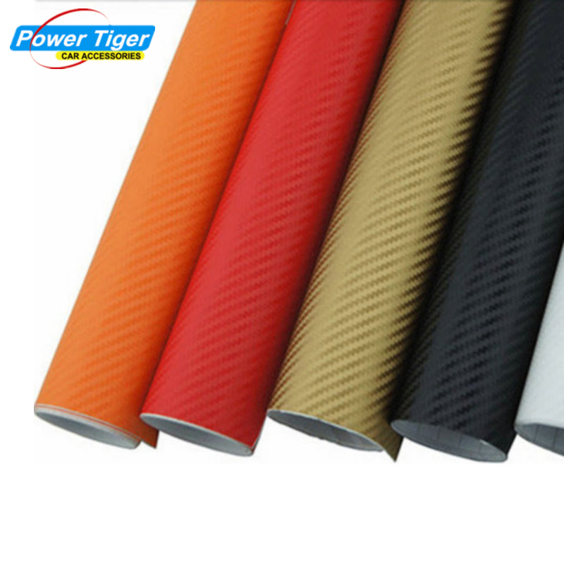 50*200CM Waterproof DIY Car Motorcycle Sticker Car Styling 3D 4D Carbon Fiber Vinyl Wrapping Film Car Accessories Film carbon fiber vinyl film wrapping scraper tools bubble window wrapping film squeegee scraper car styling stickers accessories