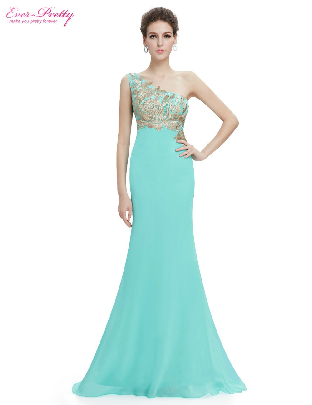 Clearance Sale] Sexy Ice Blue Prom Dresses Ever Pretty HE08833IB ...