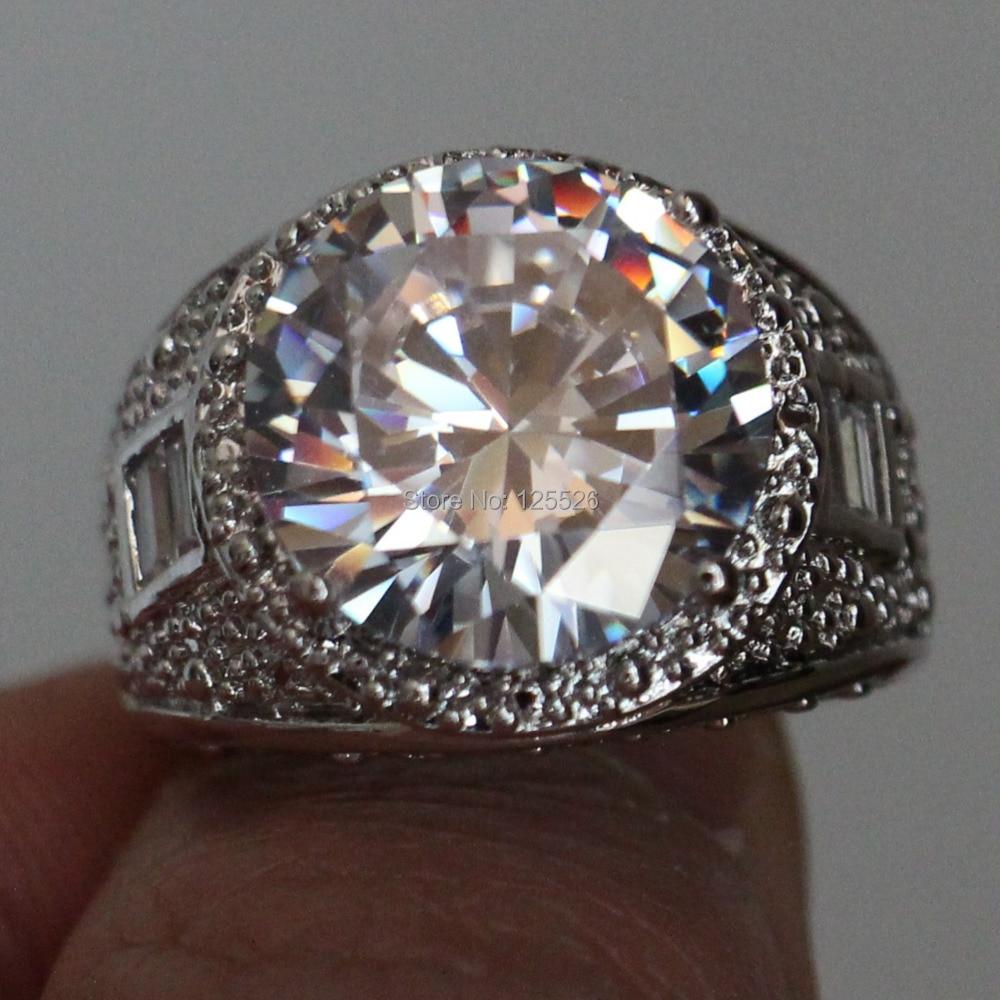 Big Cheap Wedding Rings: Aliexpress.com : Buy Victoria Wieck Men's Huge Round Cut