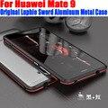 Para huawei mate9 lujo original luphie espada de metal marco de aluminio case para huawei mate 9 hm91