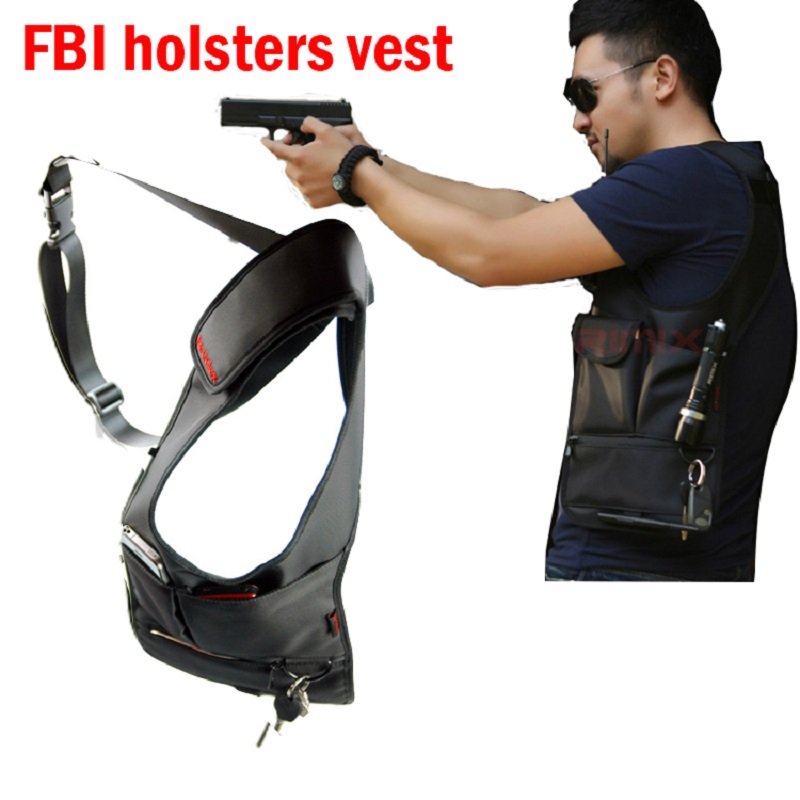 FBI agents backpack stealth voodoo tactical uk backpack sog tactical bags theftproof armpit bag clothing Black molle pouches