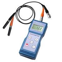 Digital Paint Coating Thickness Meter Gauge Ferrous F Non Ferrous NF Probes 0 1000um 0 40mil